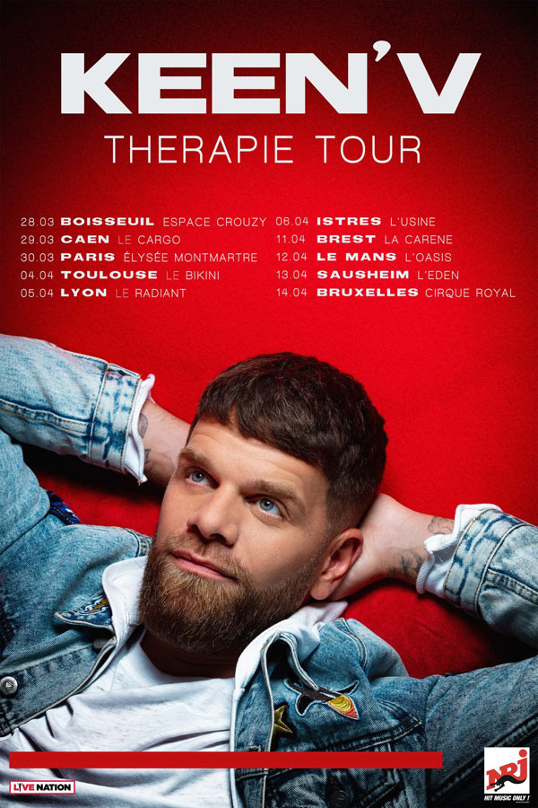 KEEN'V - THERAPIE TOUR